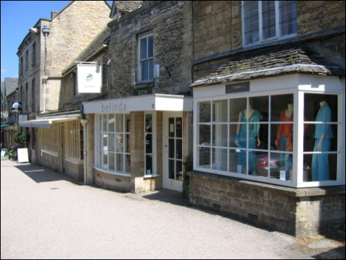 Belinda of Burford shop front